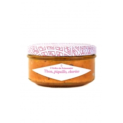 Rillettes de thon piquillo, chorizo - 140g