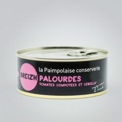 Palourdes, tomates compotées et Cebolla - 215g