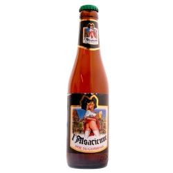 Bière Blonde de l'Alsacienne sans culotte