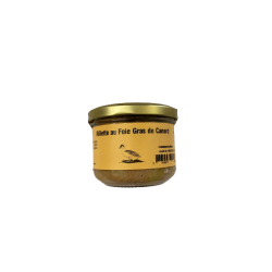 Rillettes au foie gras de canard 180g