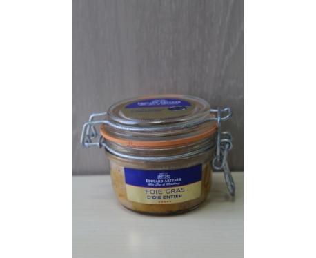 Bocal de foie gras d'oie entier d'Alsace 120g