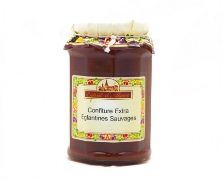 Confiture extra d'églantines sauvages - 325g (55% de fruits)