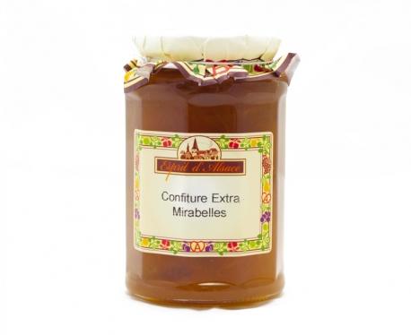 Confiture extra de mirabelles - 325g (55% de fruits)