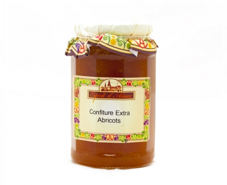 Confiture extra d'abricots 325g