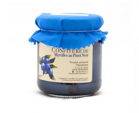 Confiture de Myrtilles au Pinot Noir - 250g