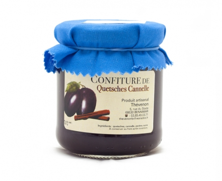 Confiture questches cannelle 250g