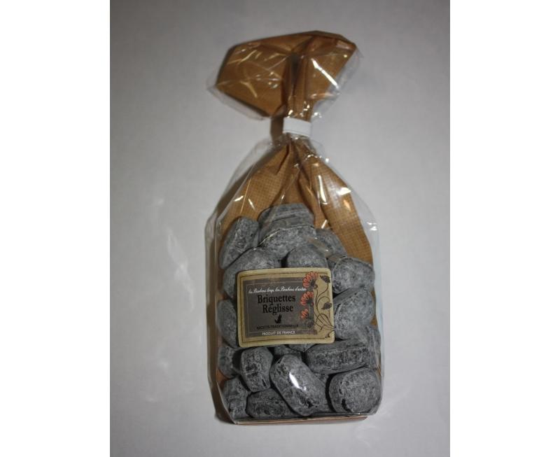"""Bonbons """"briquettes réglisse"""" 200 g"""