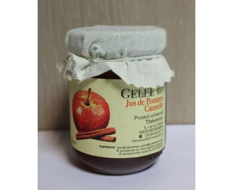 Bocal de gelée pomme cannelle Spécialités d'Alsace 105g