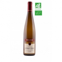 Pinot Gris Tradition BIO Moltès - 75cl
