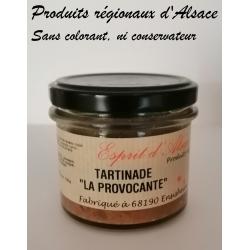 """Tartinade """"La Provocante"""" aux lentilles corail - Esprit d'Alsace - 100g"""