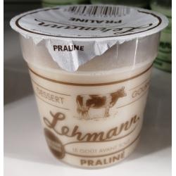 Crème dessert au praliné 125g Fromagerie Lehmann