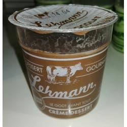Crème dessert au chocolat 125g Fromagerie Lehmann