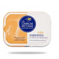 Sardines au beurre de Baratte BO 115g