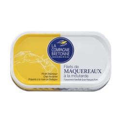 Filets de maquereaux à la moutarde 113g